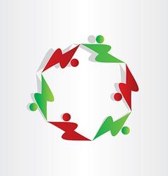kids playing children symbol vector image vector image