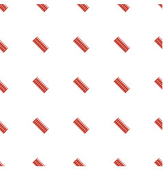 Ammo icon pattern seamless white background vector