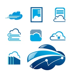 Cloud symbol vector