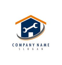Home repair logo vector