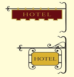 Hotel znakovi novi12 resize vector image