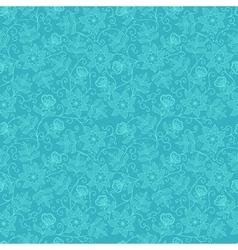 Modern Floral Pattern vector image
