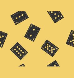 Playing cards seamless pattern original design vector