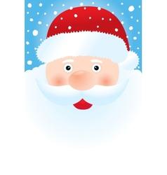 Santa Claus Portrait vector image vector image