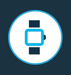 Smart watch icon colored symbol premium quality vector
