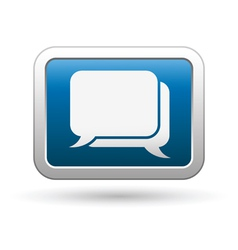 Speak bubbles icon vector