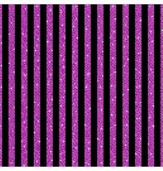 Parallel vertical lines pink sequins stars vector