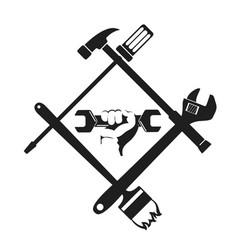 Repair symbol with tool vector