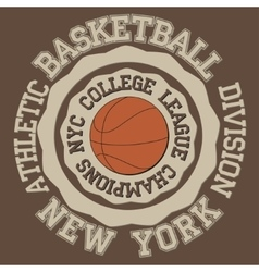 New york Brooklyn sport vector image vector image