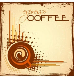 Hot Coffee vector image vector image