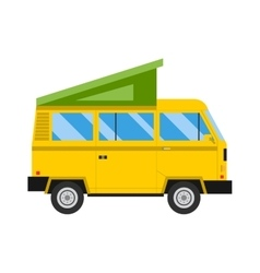 Car tent vector image