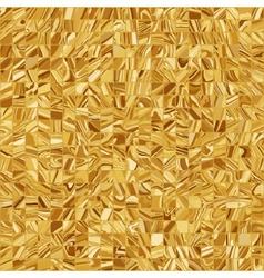 Gold mosaic background EPS 8 vector