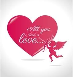 Love card design eps 10 vector