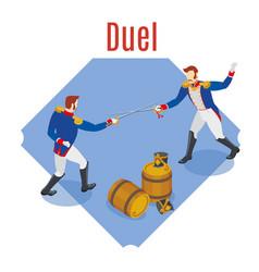Napoleons grenadiers duel vector