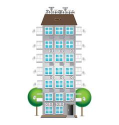 New municipal house vector