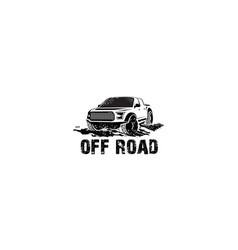 off road logo vector image