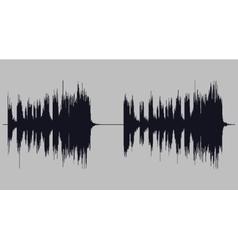Soundwave art vector