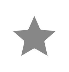 star grey icon rating sign win symbol symbol vector image