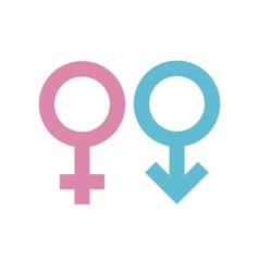 Gender signs vector image