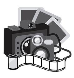 Photography camera vector