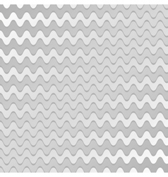 Abstract silver waves pattern vector