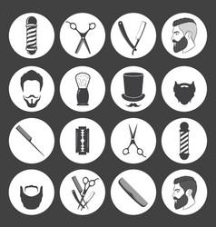 barber40 vector image