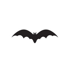 bat icon design template isolated vector image