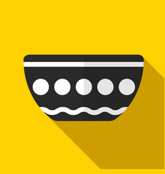 Bowl icon vector