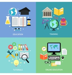 Business education concept vector