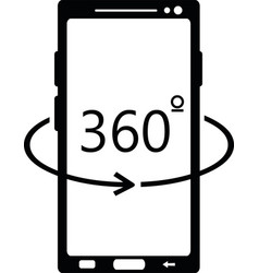 cellular 360 degrees vector image