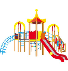 Child playground vector