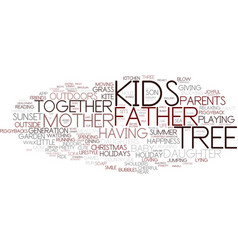 family tree with words vector images 52