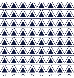 Line triangle seamless pattern vector