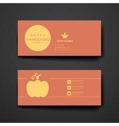 Set of modern design banner template in autumn vector image