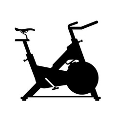 Stationary bicycle vector