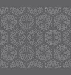 Thai pattern floral seamless vector