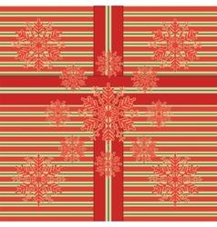 snow flake 5 vector image vector image