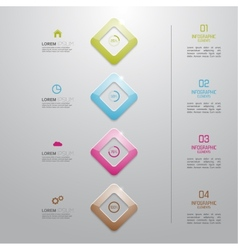 Multicolored plastic preform with numbers and vector image vector image