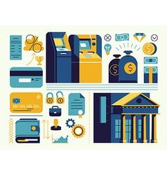 Banking Icon Set vector