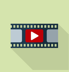 Film strip icon video icon vector