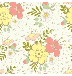 Floral saemless vector
