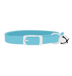 pet collar vector image