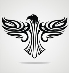 Flying Eagle Tribal vector image vector image