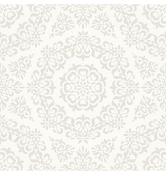 Seamless ornate retro pattern vector image vector image