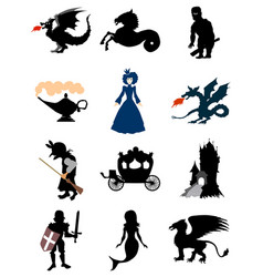 motive of fairy tale vector image