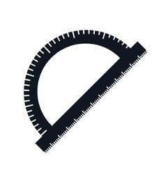 Compass ruler school vector image vector image
