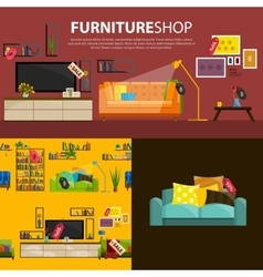 sale products in a vector image