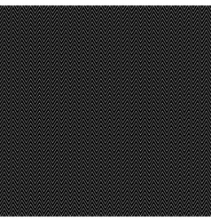 Black seamless pattern with zigzags vector image