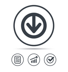 Download icon load internet data sign vector