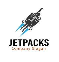 Jet Packs Design vector